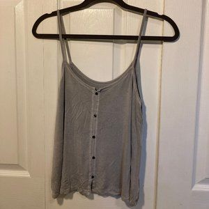 American Eagle Outfitters Gray Tank Top